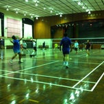 Photo taken at Foo Chow Badminton Hall by King on 2/18/2013