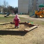 Photo taken at Детская Площадка by Mikhail R. on 4/19/2014