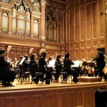 Photo taken at New England Conservatory's Jordan Hall by Sumit S. on 10/27/2011