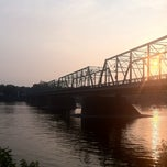 Photo taken at New Hope - Lambertville Route 202 Toll Bridge by Sean G. on 6/22/2011