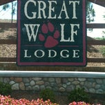 Photo taken at Great Wolf Concord by Krystl S. on 6/2/2012
