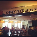 Photo taken at Cheeky Duck Asian Kitchen & Bar by Mike H. on 10/22/2011