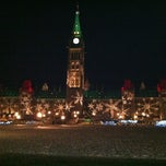 Photo taken at Parliament Hill by Mia on 12/30/2011