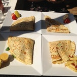 Photo taken at Crepes A Latte The Cafe by Irina G. on 9/3/2012