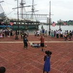Photo taken at Inner Harbor by Mark P. on 7/21/2013