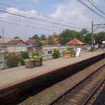 Photo taken at Stasiun Cilebut by Ersa H. on 5/4/2013