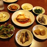 Photo taken at Dolsot House | K-Town BBQ Korean Restaurant by Tho P. on 7/14/2013