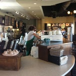 Photo taken at Starbucks by Monica C. on 10/10/2012