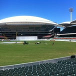 Photo taken at Adelaide Oval by Mark P. on 11/17/2013