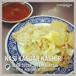 Photo taken at Nasi Kandar Nasmir by QinHong Y. on 2/10/2013