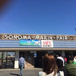 Photo taken at Sonoma-Marin Fairgrounds & Event Center by Lara A. on 6/22/2014