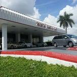 Photo taken at Headquarter Toyota by Marjorie V. on 7/24/2013