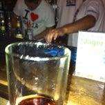 Photo taken at Saltire Lounge (malia's ONLY Scottish pub) by Frank U. on 8/14/2013
