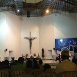 Photo taken at Santuario de San Vicente de Paul by Thea V. on 12/24/2012
