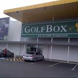 Photo taken at GolfBox Booragoon by Brandon L. on 10/1/2013