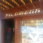 Photo taken at Filomena Ristorante by Adrian G. on 3/30/2013