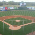 Photo taken at Knights Stadium by Nick B. on 4/14/2013