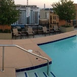 Photo taken at The Whitman Rooftop Pool by Armie on 9/1/2013