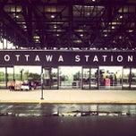 Photo taken at VIA Rail Ottawa by Kei H. on 9/21/2013