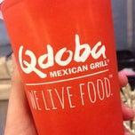 Photo taken at Qdoba Mexican Grill by Brooklynn on 11/22/2013