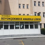 Photo taken at Büyükçekmece Anadolu Lisesi by Mert Ö. on 9/9/2013