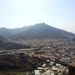 Photo taken at Hira' Caves, Jabal Noor, Mecca by Zahra A. on 1/27/2014