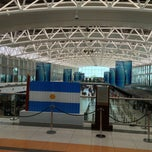 Photo taken at Aeropuerto Internacional De Ezeiza - Ministro Pistarini (EZE) by Bruno J. on 2/27/2013