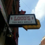 Photo taken at Loco's Bar & Grill by Kate H. on 5/20/2013