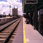 Photo taken at UTA FrontRunner Murray Central Station by B G. on 8/1/2013