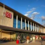 Photo taken at Würzburg Hauptbahnhof by Yasuhiro K. on 9/14/2012