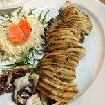 Photo taken at Takho Bangpo Seafood by Alina M. on 11/21/2013