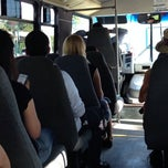 Photo taken at Disney Cast Member Shuttle by Christopher A. on 8/20/2014