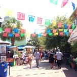 Photo taken at Historic Market Square San Antonio by Zoe L. on 9/3/2013