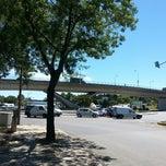 Photo taken at Rotunda do Relógio by Margarita S. on 6/5/2014