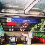 Photo taken at MRT พหลโยธิน (Phahon Yothin) PHA by Lewis Chow S. on 3/18/2013