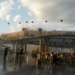 Photo taken at Καφέ & Εστιατόριο Μουσείου Ακρόπολης (Acropolis Museum Cafe Restaurant) by Paula D. on 10/3/2012
