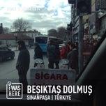 Photo taken at Beşiktaş - Taksim Dolmuş Durağı by Egemen B. on 2/3/2014