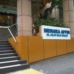 Photo taken at Menara AFFIN by Saiful A. on 11/14/2012