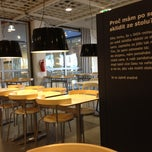 Photo taken at IKEA restaurace by Mcha K. on 5/1/2013
