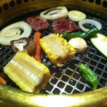 Photo taken at Gyu-Kaku 牛角 Times Square by Donna Mc on 3/2/2013