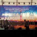 Photo taken at SMP Pangudi Luhur 1 Yogyakarta by Leonardo K. on 6/14/2014