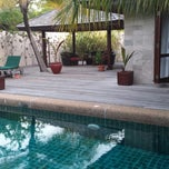 Photo taken at Sulthaan Pool Villa 169 by Marcel R. on 3/5/2014