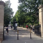Photo taken at Roddick Gates (McGill) by Andrew S. on 8/8/2014