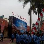 Photo taken at Lapangan upacara Kemenkumham by anung c. on 10/28/2013