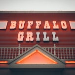 Photo taken at Buffalo Grill by Jason F. on 8/8/2014