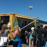 Photo taken at Food Truck Festival Troy by Amy R. on 5/4/2013