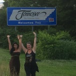 Photo taken at Tennessee/Georgia State Line by Mayte D. on 6/12/2014