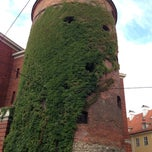 Photo taken at Pulvertornis | Powder Tower | Пороховая башня by Selin Z. on 9/3/2013