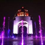 Photo taken at Monumento a la Revolución Mexicana by Luzbel M. on 7/14/2013