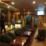 Photo taken at Executive Lounge Husein Sastranegara International Airport by Tun Teja T. on 7/7/2013